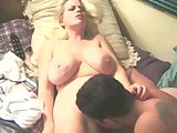 Chubby Busty Blonde Chick Suck and Facial