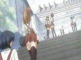 Dirty anime schoolgirl