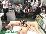 Real Jap orgy in office