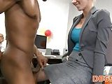 Girl gets stripper cock for real pleasure