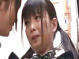 Lesbian Japanese girls have some fun
