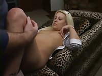 Eager dick in hot blonde hole