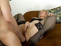 Ass ramming for cute milf