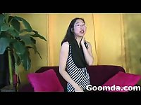 Jenny tiny asian gets naked