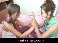 Natasha Shy and her sexy teen girlfriend
