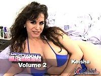 Busty mature Keisha banging
