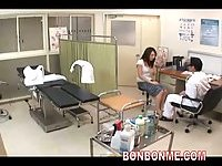 Gynecology doctor fucks his milf patient