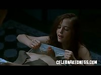 Celeb Eva Green big bare natural breasts