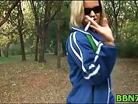 Hot girl gets fucked by POV