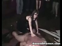 Amateur footage from male strip club in UK