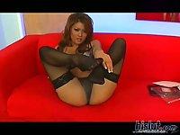 Charmane Star banged in black stockings