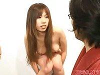 Japanese gal getting banged