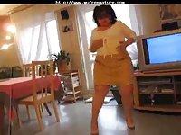 Old Bbw Striptease