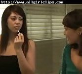 Asian Lesbian Beauties Fun