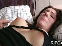 Babe pounded in wet holes scene 3