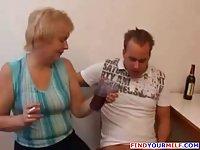 Russian Mature Cummed