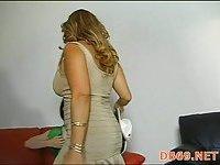 Hot young girls sucking cock scene 2