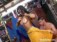 Gorgeous Indian Brazilian Ass Fucked