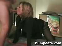 Sexy MILF and hubby having fun