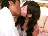 Japanese with hairy cunt pounded