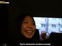 Amateur Asian slut picked up