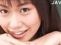 Jap schoolgirl banged & tits cummed