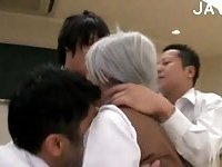Japanese teen banged in class