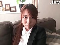 Hot Japanese Babe Gets Ready For Fuck