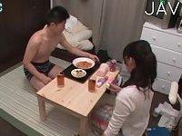 Horny Guys Seducing Asian Girl For Fuck