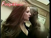Black Man Fucks Red Head Teen In The Kitchen