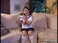 Japanese Schoolgirl Banging