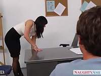 Office milf Kendra Lust gets fucked on the desk
