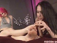 Sophia Compilation of Foot fetish Worship