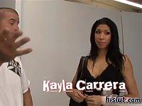 Kayla is getting it on