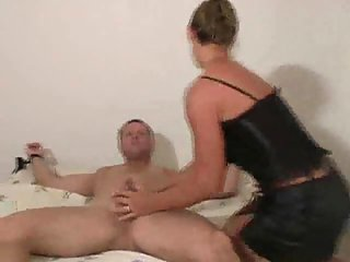 Tied Guy Gets Served By Nasty Chicks