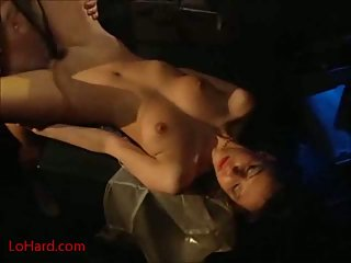 Hairy pussy fucking & fisting