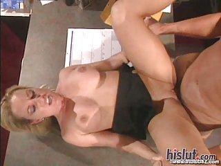 Calli Cox is a California bleach blonde