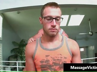 Kyle is ready for massage