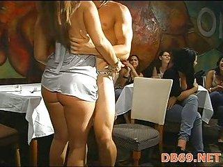 Strip dancer fucked at hen-party scene 4