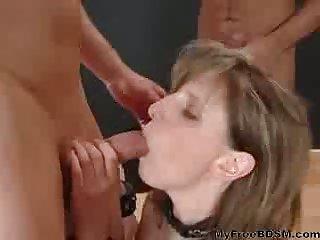 Blonde Slave