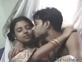 Desi Couple On Honeymoon