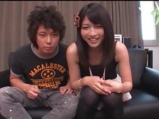 Hairy Japanese Babe Toying