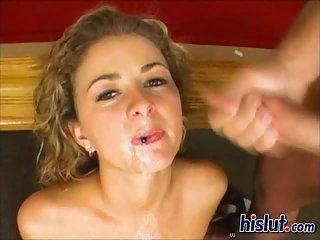 Anna gives a blowjob