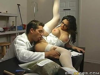 Adrenalynn sexy nurse | Big Boobs Update