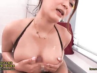 Busty jap in body stocking rides cock | Big Boobs Update
