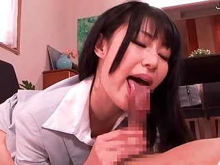 Japanese show off her hairy pussy
