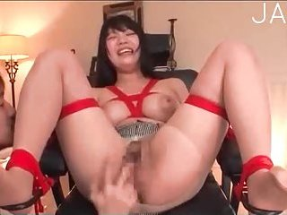 Japanese in ripped pantyhose toyed | Big Boobs Update