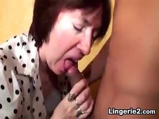 Granny Loves To Have Young Cock