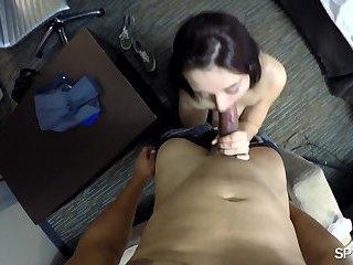 Spy Pov - Fucking her way into the job